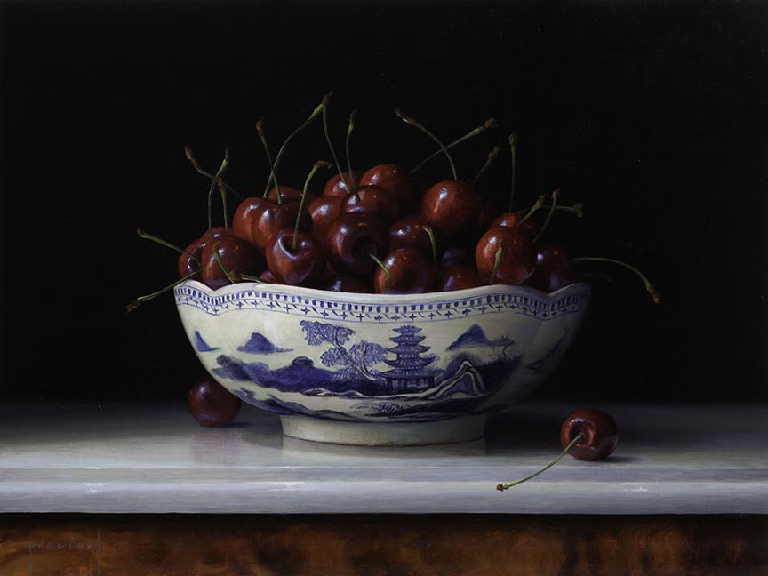 Cherries in Canton Bowl